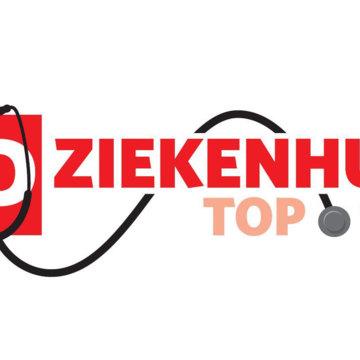 Stijging in AD ziekenhuis Top 100