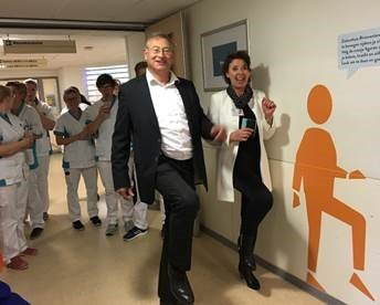 Ziekenhuis Rivierenland stimuleert bewegen