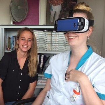 Wat kan VR (virtual reality) bijdragen aan het comfort van kinderen bij een behandeling?