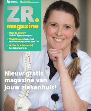 ZR Magazine: nieuw tijdschrift van ons ziekenhuis