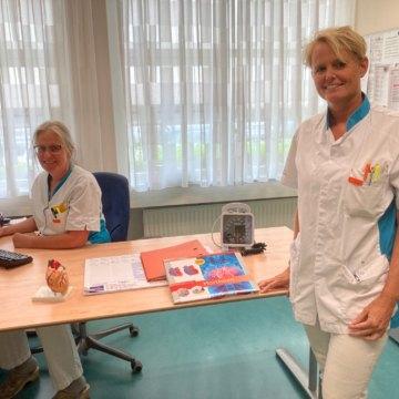 Goede resultaten door intensieve begeleiding hartfalen patiënten in Ziekenhuis Rivierenland