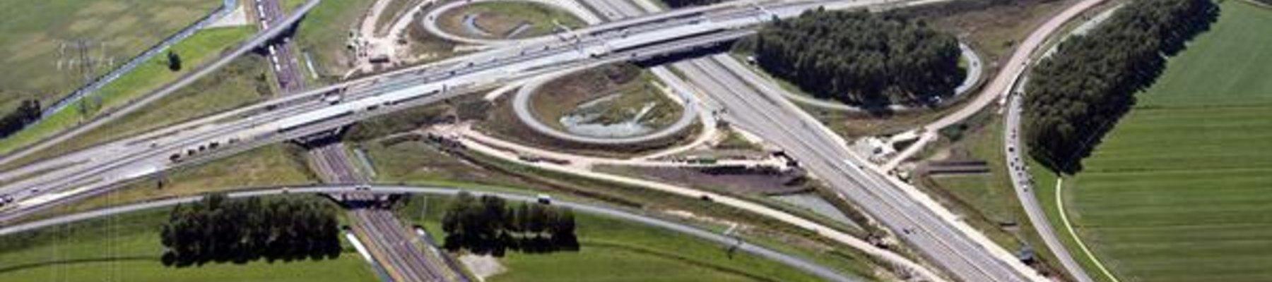 Groot onderhoud aan de A15 (17 okt. tot en met 2 dec.)