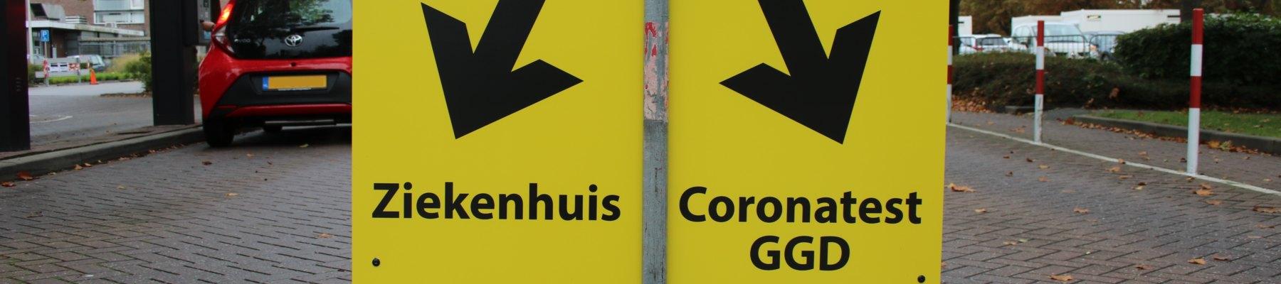 GGD opent teststraat op parkeerterrein ziekenhuis