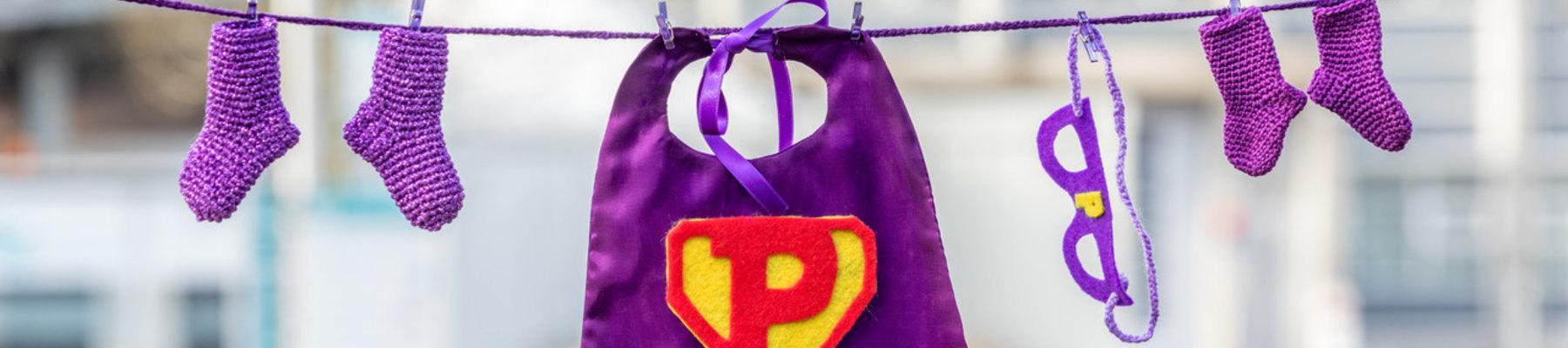 Kinderafdeling kleurt paars op Wereld Prematurendag!