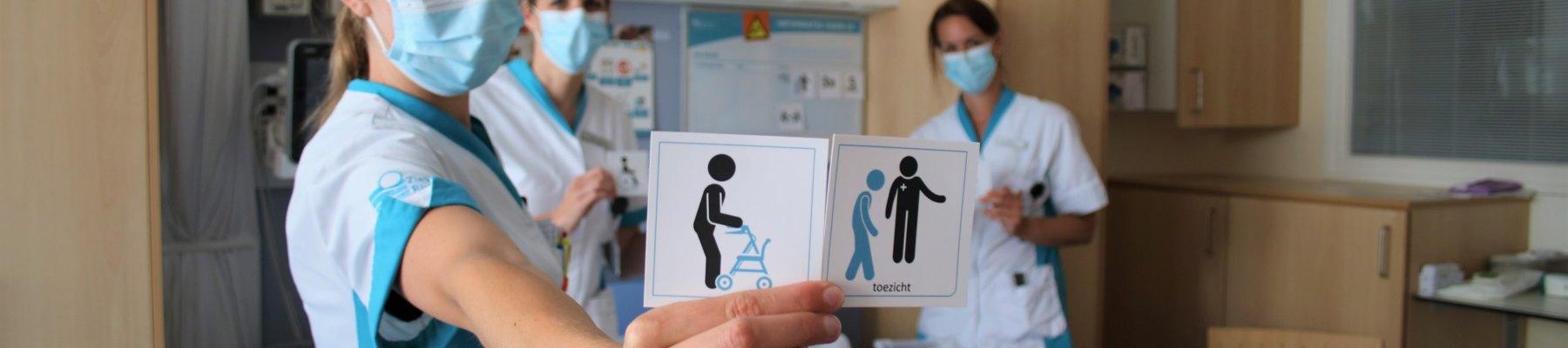 Pilot beweegbord op verpleegafdeling P1